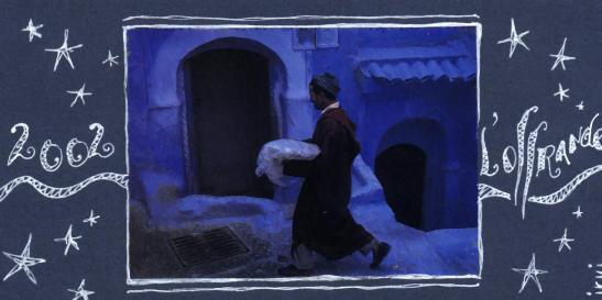 l'offrande... bleue