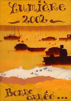 lumière, bateaux jaunes