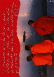 trois moines au bord du gange